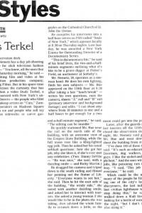 Video's Studs Terkel